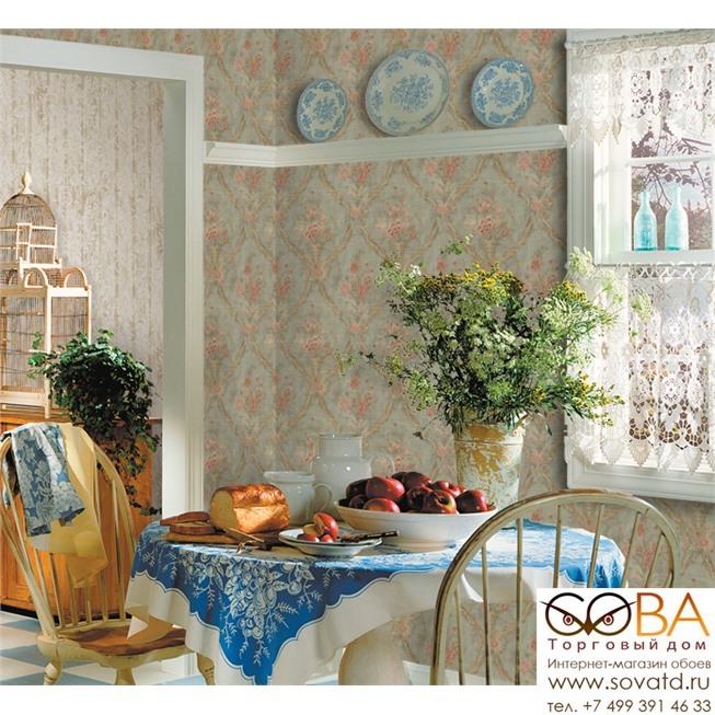 Обои Seabrook TY31104 Tapestry купить по лучшей цене в интернет магазине стильных обоев Сова ТД. Доставка по Москве, МО и всей России