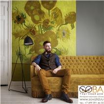 Панно BN 30542 Van Gogh купить по лучшей цене в интернет магазине стильных обоев Сова ТД. Доставка по Москве, МО и всей России