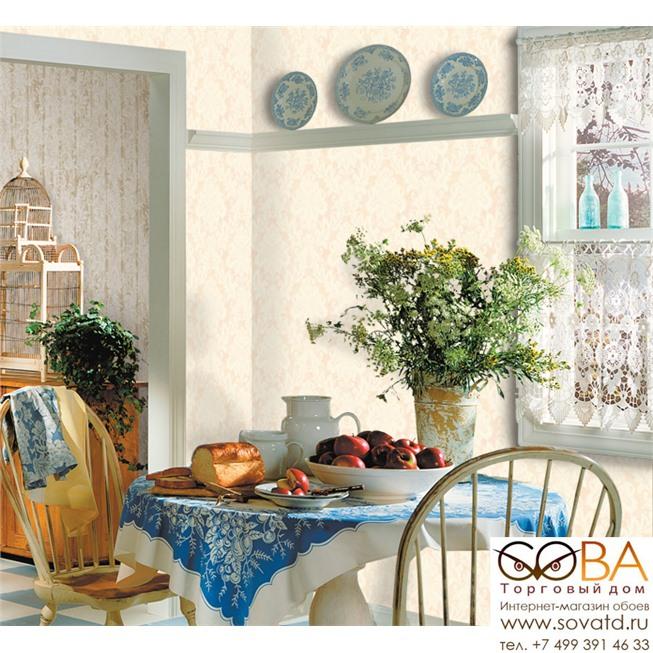 Обои Seabrook DF30011 Damask Folio купить по лучшей цене в интернет магазине стильных обоев Сова ТД. Доставка по Москве, МО и всей России