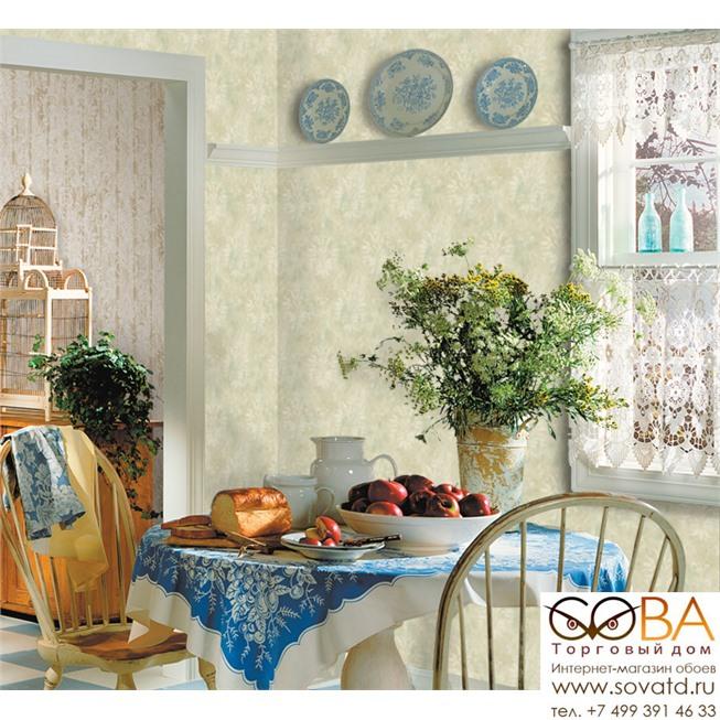 Обои Seabrook AQ51502 Watercolor купить по лучшей цене в интернет магазине стильных обоев Сова ТД. Доставка по Москве, МО и всей России