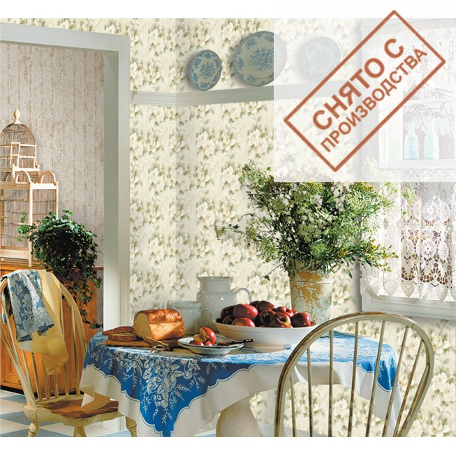Обои Seabrook AQ51107 Watercolor купить по лучшей цене в интернет магазине стильных обоев Сова ТД. Доставка по Москве, МО и всей России