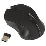 Мышь беспроводная оптическая USB Sonnen WM-250Bk (512642)