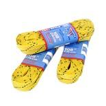 Шнурки для коньков с пропиткой W917, пара, 2,74 м, желтые
