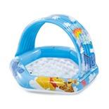 Бассейн надувной детский 1-3 года Intex Винни Пух (58415) 109х102х17 см