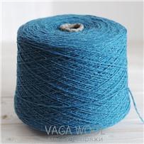 Пряжа City, 021 Турмалин, 191м/50г, шерсть ягнёнка, шёлк, Vaga Wool