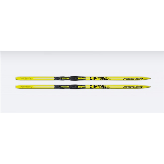 Лыжи Fischer SPRINT CROWN YELLOW JR N63317, интернет-магазин Sportcoast.ru