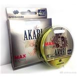 Шнур плетеный Shii Saido Akari 4X, 150 м, 0,185 мм, до 7,25 кг, yellow SBLA150-4X-18