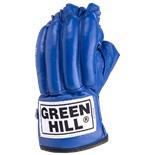 Перчатки снарядные ROYAL CMR-2076, шингарды, кожа, синие