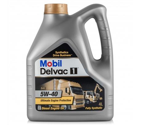 Mobil Delvac 1 5W-40, 4л
