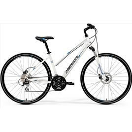 Велосипед Merida Crossway 20D-LADY White/Blue/Black (2017), интернет-магазин Sportcoast.ru