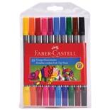 Фломастеры смываемые двусторонние Faber Castell 10 цветов 151110