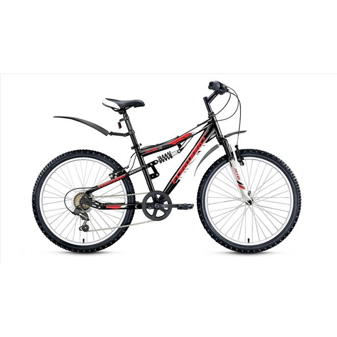 Велосипед Forward Cyclone 1.0 24 (2017) Оранжевый/Черный, интернет-магазин Sportcoast.ru