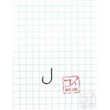 Крючок Koi Okiami Chinu-Ring № 8 /1 (AS), BN (10 шт.) KH7101-1BN