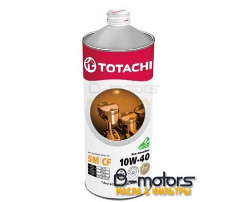 TOTACHI ECO GASOLINE 10W-40 (1л.)