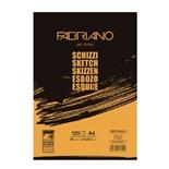 Альбом для рисования А4 Fabriano Schizzi 120 листов, 90 г/м2, мелкое зерно 57721297