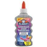Клей для слаймов канцелярский с блестками Elmers Glitter Glue 177 мл серебряный 2077255
