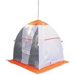 Палатка рыбака Нельма 1 (автомат) (хаки/оранжевый)