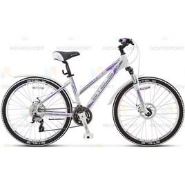 Велосипед Stels Miss-6700 MD Белый/Серый/Фиолетовый  (2016), интернет-магазин Sportcoast.ru