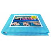 Пляжный коврик анти-песок Sand Free Мat (1,5 Х 2 м) голубой