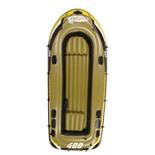Лодка надувная Fishman 400 SET (весла+насос) JL007210-1N
