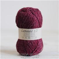 Пряжа Lamauld Бордо 6969, 100м/50г, CaMaRose, Bordeaux
