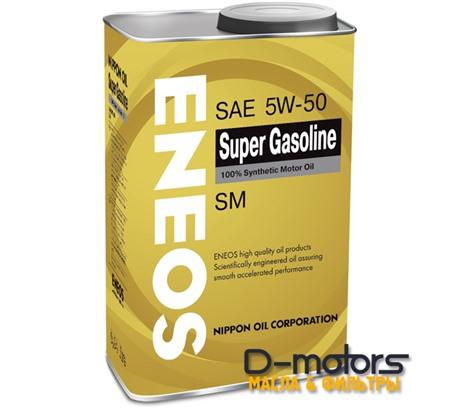 Моторное мало Eneos Super Gasoline 5w-50 (1л.)