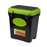 Ящик для зимней рыбалки Helios FishBox односекционный 10л зеленый