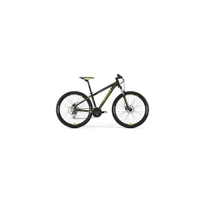 Велосипед Merida Big Seven 20D Matt Black/Green (2017) , интернет-магазин Sportcoast.ru