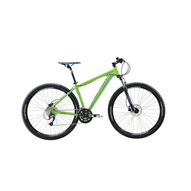 Велосипед Merida Big Nine 40-D Matt Green (Blue/Black) 2018, интернет-магазин Sportcoast.ru