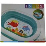 Бассейн надувной детский Intex (57482NP) 163х107х46 см