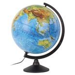 Глобус физический Globen Классик d320 мм с подсветкой К013200017