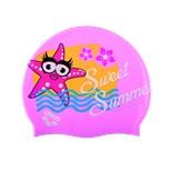 Шапочка для плавания AWT MULTI JR pink, силикон, 91925 24