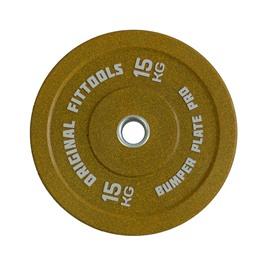 Диск бамперный 15 кг (желтый)