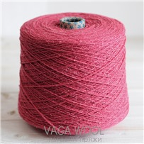 Пряжа City, 030 Тюльпан, 144м/50г, шерсть ягнёнка, шёлк, Vaga Wool