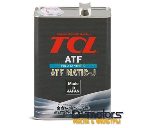 Трансмиссионное масло для автоматических коробок передач TCL ATF MATIC J (4л)