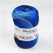 Пряжа YEAR SOCKS, 07 Июль, 400м в 100г, Woolly Hugs