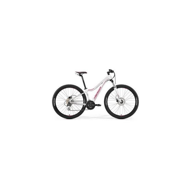 Велосипед Merida Juliet 7.20D Matt White/Pink (2017) , интернет-магазин Sportcoast.ru