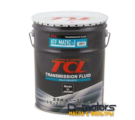 Трансмиссионное масло для автоматических коробок передач TCL ATF MATIC J (20л)
