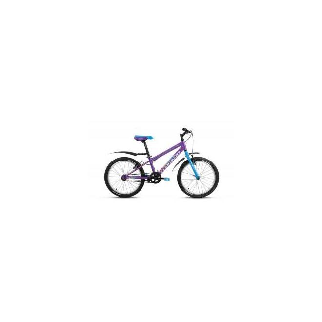 Велосипед Forward Unit 1.0 20 (2017) Фиолетовый Матовый, интернет-магазин Sportcoast.ru