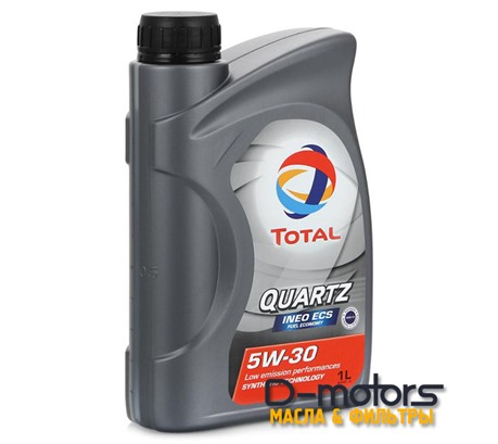 Моторное масло Total Quartz INEO ECS 5W-30 (1л.)