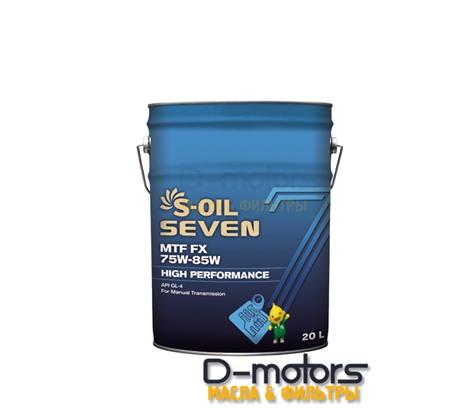 S-OIL 7 MTF FX 75W-85W GL-4 (20л)
