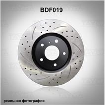 BDF019. Передняя ось. Перфорация + слоты