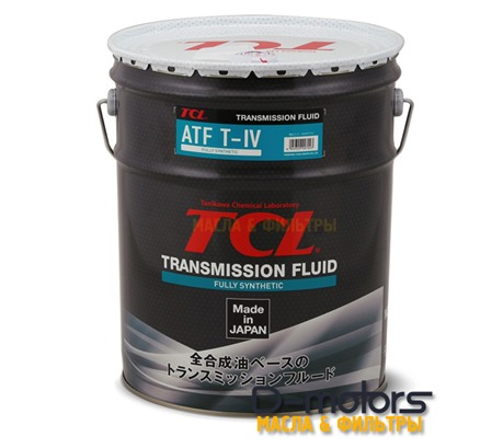 Трансмиссионное масло для автоматических коробок передач TCL ATF TYPE-T IV (20л)