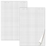 Блокноты для флипчарта Brauberg 20 листов, клетка, 5 шт 124097