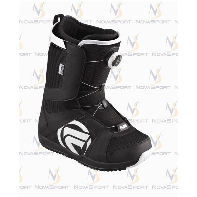 Ботинки для сноуборда women Flow Vega Boa std BLK/WHT, интернет-магазин Sportcoast.ru