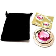 Держатель-крючок для сумок Elegant Элегант (розовый), Любая женщина придет в восторг от такого подарка!