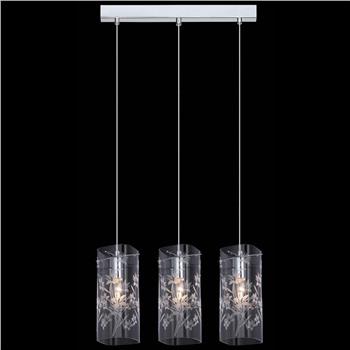 Подвесной светильник MDM-1823/3 CH+Clear