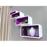 Комплект открытых полок на стену Qwerty Бангкок 72018