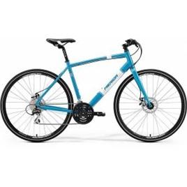 Велосипед Merida Crossway Urban 20MD Fed Metallic Blue/White (2017), интернет-магазин Sportcoast.ru