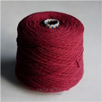 Пряжа City, 016 Бургундия, 191м/50г, шерсть ягнёнка, шёлк, Vaga Wool